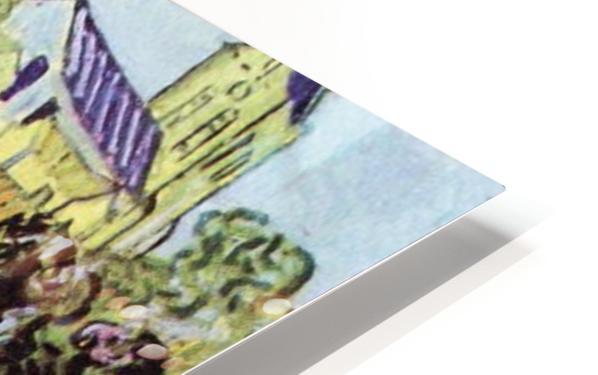 The garden of the Daubignys by Van Gogh HD Sublimation Metal print