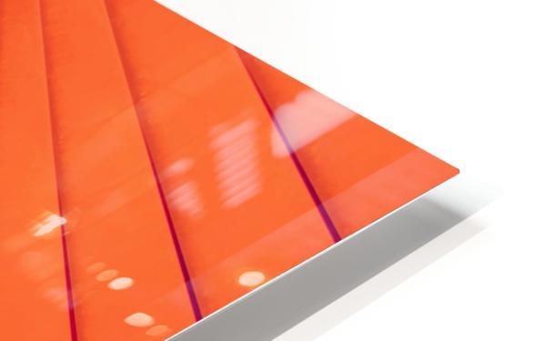 Composition Vermillon HD Sublimation Metal print