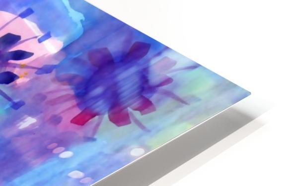 Watercolor blots HD Sublimation Metal print