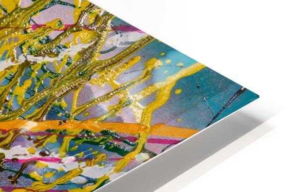 BIRTHDAY CONFETTI HD Sublimation Metal print