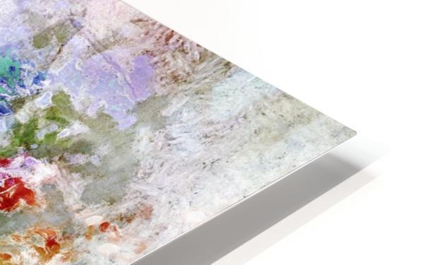 Mind in Meditation HD Sublimation Metal print