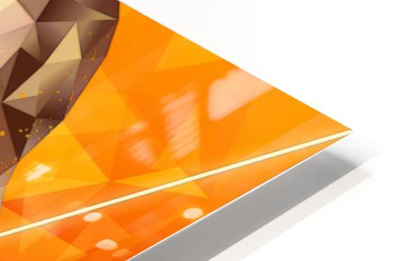 Golden Grace HD Sublimation Metal print
