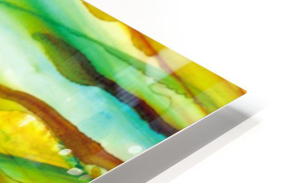 Hazy Rays HD Sublimation Metal print
