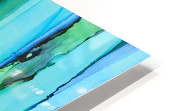Blue HD Sublimation Metal print