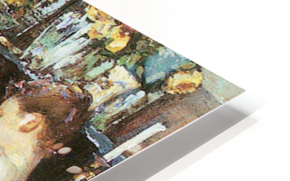 Mrs. Hassam and her sister by Hassam HD Sublimation Metal print