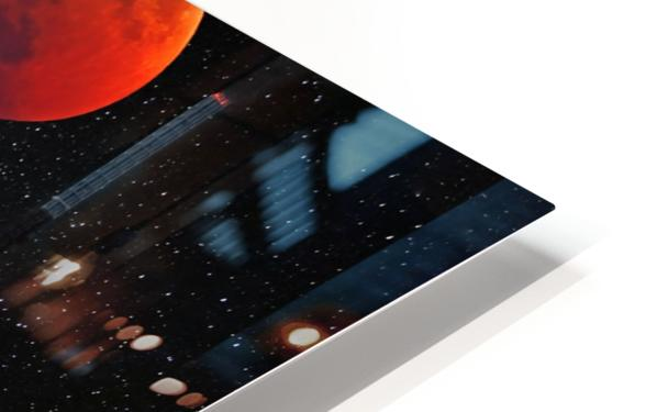 Moon Eclipse  HD Sublimation Metal print
