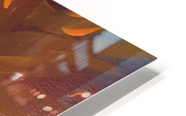 THE LEAF OF LIGHT HD Sublimation Metal print