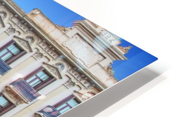 Plaza de la Boqueria Edit HD Sublimation Metal print