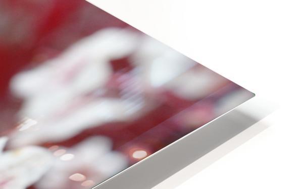 White Blood 2 HD Sublimation Metal print
