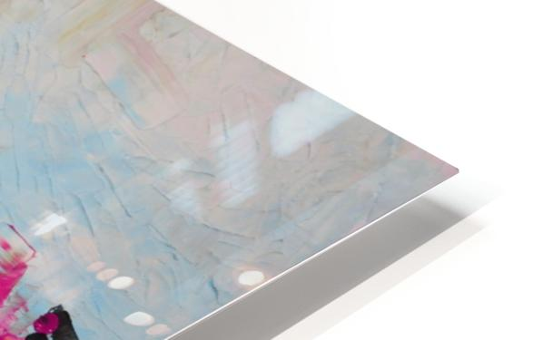 Abstract 02 HD Sublimation Metal print