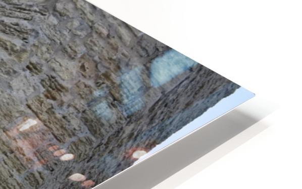 Castle Wall HD Sublimation Metal print