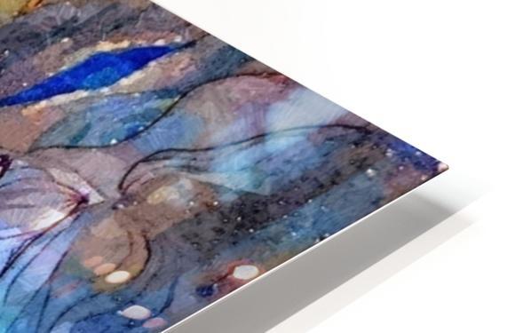 Blue Dimension HD Sublimation Metal print