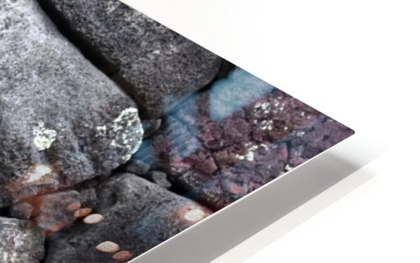 Lava brick HD Sublimation Metal print
