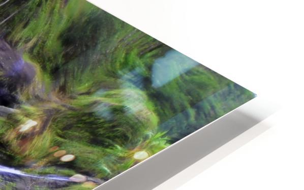 Upper Hanawi Falls HD Sublimation Metal print