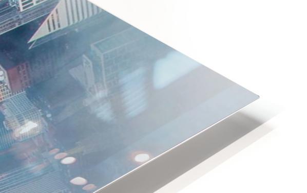 City Bound HD Sublimation Metal print
