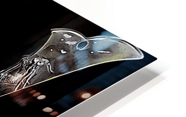 Samurai Helmet  HD Sublimation Metal print