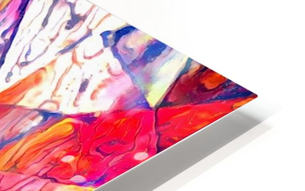Modern Digital Abstract Painting HD Sublimation Metal print