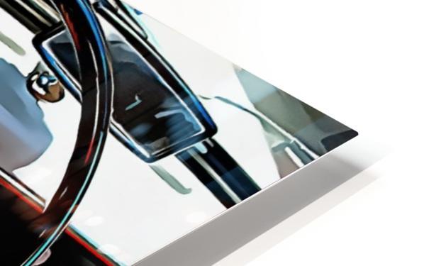 Autobianchi Bianchina Through The Window HD Sublimation Metal print