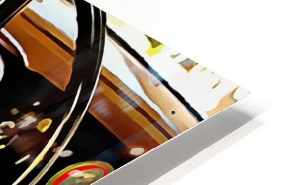 Fiat 508 Balila Through the Window HD Sublimation Metal print