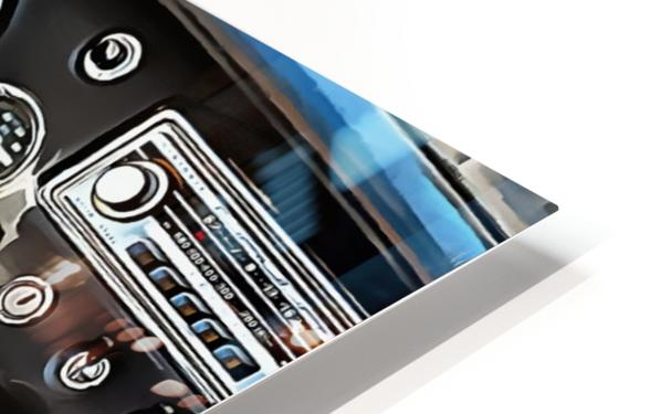 MG B Glance At Interior HD Sublimation Metal print
