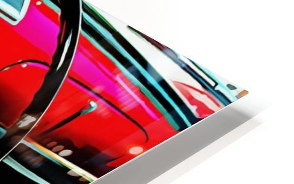 Fiat 1100 D Through The Window HD Sublimation Metal print