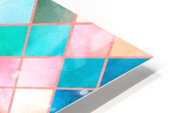 Geometric XXXX HD Sublimation Metal print
