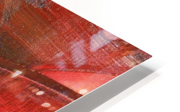 ELECTRIC GUITAR HD Sublimation Metal print