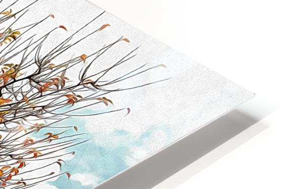 The Autumn Guardian HD Sublimation Metal print