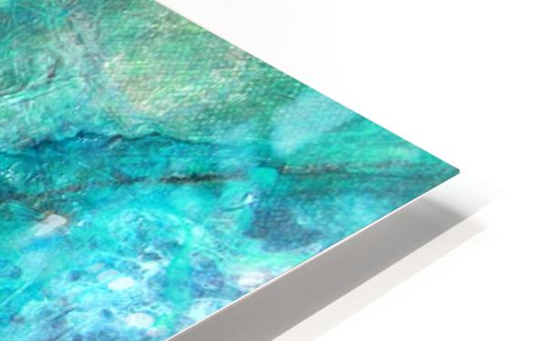 turquoise N°2 HD Sublimation Metal print