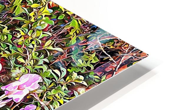 My Secret Iris Garden HD Sublimation Metal print