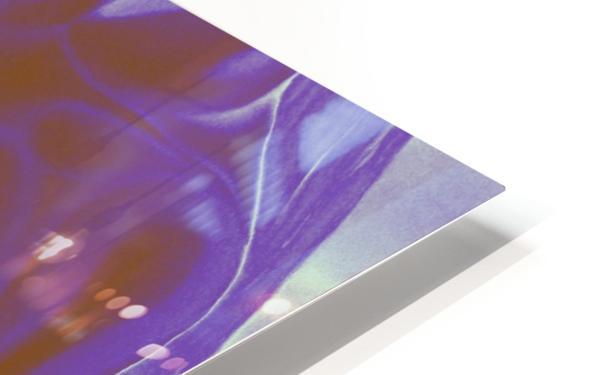 Violet Inspiration HD Sublimation Metal print