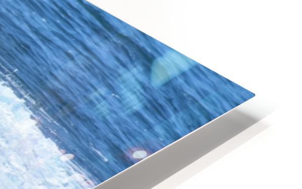 Catch a Wave HD Sublimation Metal print