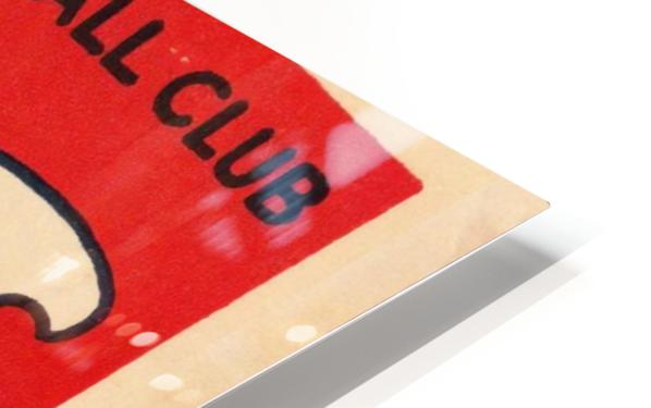 1929 Chicago Cubs score card HD Sublimation Metal print