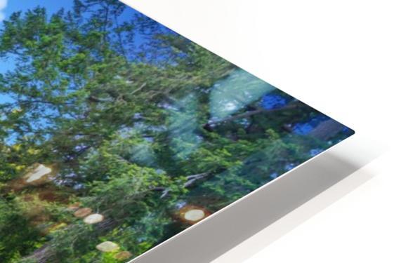 Butchart Gardens HD Sublimation Metal print