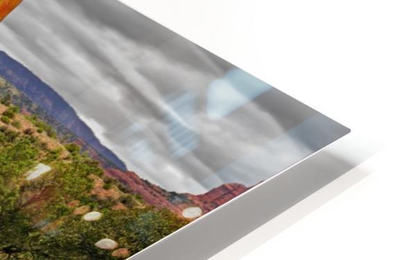 Storm over Sedona HD Sublimation Metal print