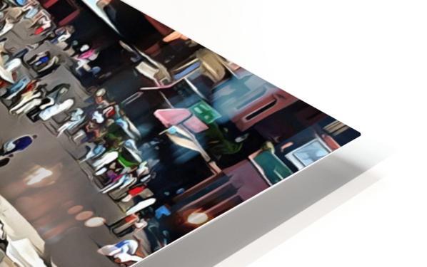 View Over Jemaa el Fnaa 1 HD Sublimation Metal print