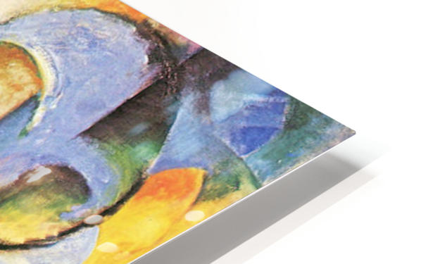 Broken Forms by Franz Marc HD Sublimation Metal print