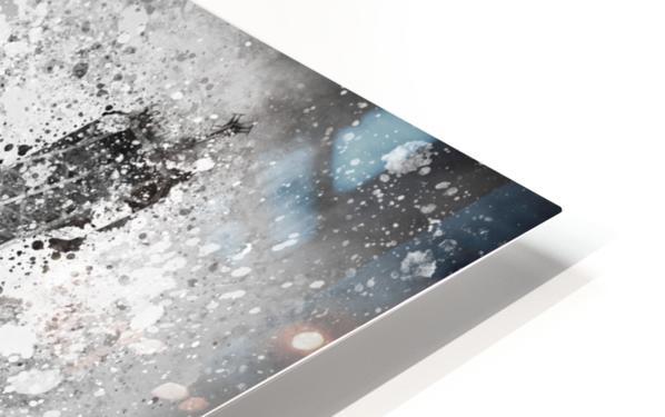 Monochrome Art EIFFEL TOWER  HD Sublimation Metal print