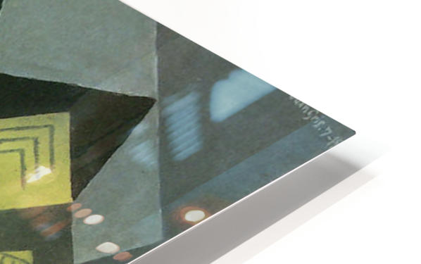 Guitar and Fruit Bowl -2- by Juan Gris HD Sublimation Metal print