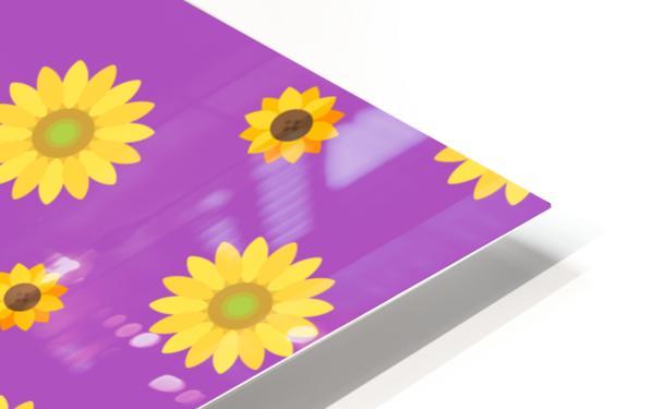 Sunflower (7) HD Sublimation Metal print