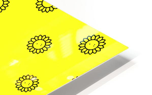 Sunflower (25) HD Sublimation Metal print