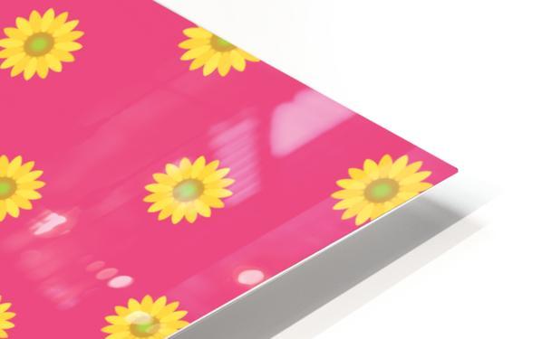 Sunflower (33) HD Sublimation Metal print