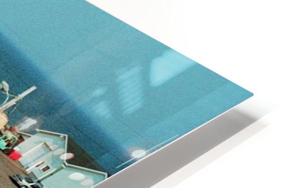 Low Tide - Canadian Harbour HD Sublimation Metal print