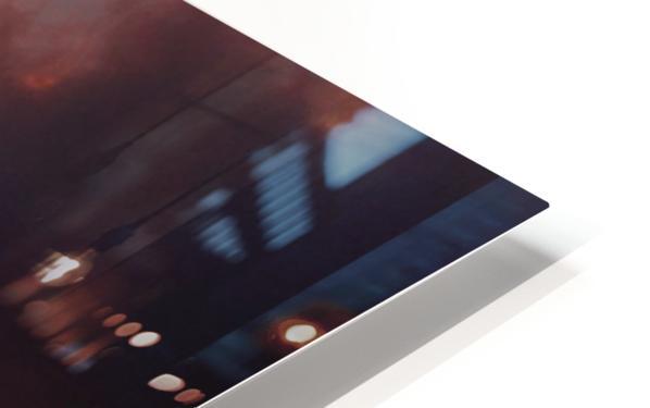 Golden Cloudscape 01 HD Sublimation Metal print
