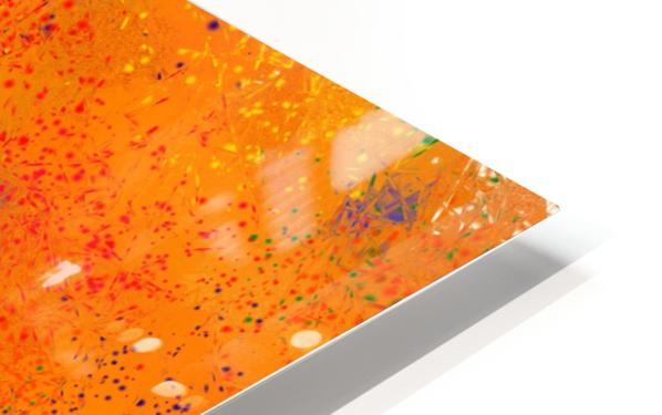 Seisnahorra - orange and blue balanced freedom HD Sublimation Metal print