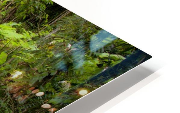 El Junque Waterfall HD Sublimation Metal print
