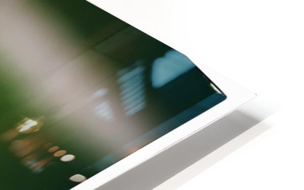 White Peony HD Sublimation Metal print