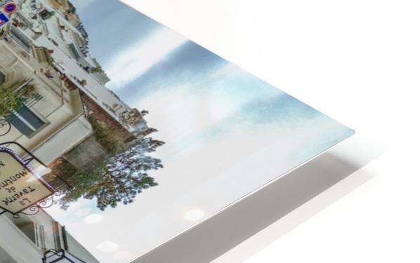 Paris - Rue Gabrielle HD Sublimation Metal print