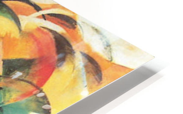 The Mandrill by Franz Marc HD Sublimation Metal print