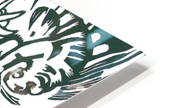 Tiger -2- by Franz Marc HD Sublimation Metal print